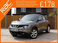 2012 Nissan Juke 1.6 Acenta 5 Speed Bluetooth Climate Control Just 2 Private Own