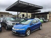 2007 Honda Civic 1.8 i-VTEC Type S Hatchback 3dr