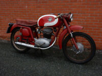 MV AGUSTA AB AMERICA175cc 1957 IN UNRESTORED AS FOUND CONDITION