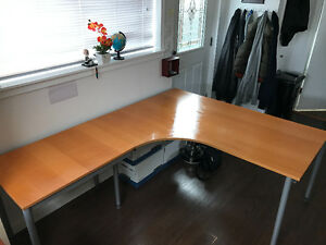 Large L-Shape Executive desk