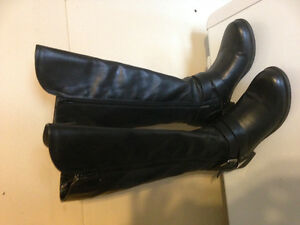 "Black ""Ferglicious"" Riding Boots"