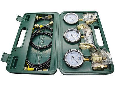 Excavator Hydraulic Pressure Test Kit 12 Text Coupling Hydraulic Pump Test New