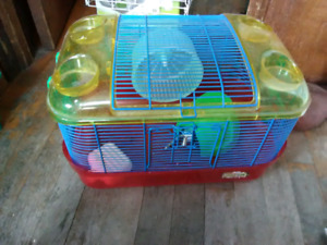 Completed hamster cages