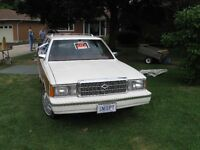 1984 PLYMOUTH RELIANT TOWN & COUNTRY STATION WAGON