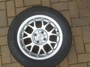Michelin X-Ice winter tires on alloy rims Windsor Region Ontario image 1