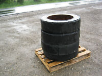 solid hard rubber