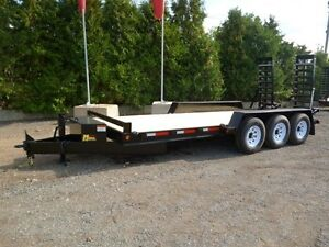 10 Ton Low Bed Float by Miska Trailer