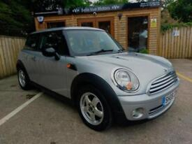 2008 MINI ONE 1.4 SALT IN SILVER ONLY 44000 MILES AND FSH