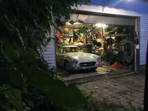 LOOKING FOR PARTS FOR A 300SL GULLWING