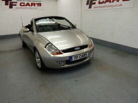 Ford Streetka 1.6 Luxury - DELIVERY AVAILABLE! P/X TO CLEAR!