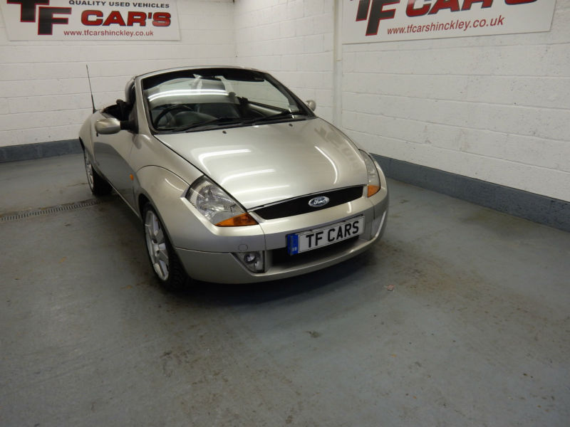 Ford Streetka Convertible 1.6 Luxury - DELIVERY AVAILABLE! P/X TO CLEAR!