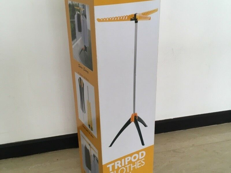 BNIB Retractable Tripod Clothes Rack