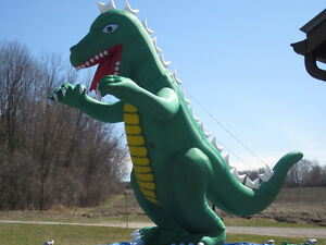 30 FOOT HIGH INFLATABLE GODZILLA - ATTENTION GRABBER ADVERTISING