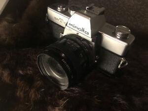 Minolta SRT film camera