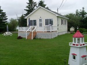 Cozy 2 Bedroom Cottage Rental, Caissie Cape NB