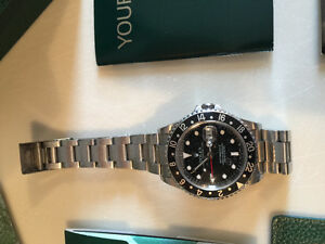 Rolex GMT Stainless w date