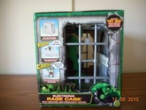 The Incredible Hulk 2003 Electronic Rage Cage Sounds & Breakout Kingston Kingston Area image 5