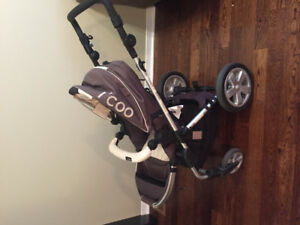 """I'coo Targo"" Bassinet (Infant)  / Stroller (Toddler) - $100"