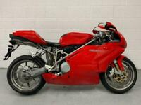 2002 Ducati 999 Biposto 999 Biposto Petrol red Manual