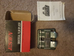 ESWN Universal Film Splicer for Super 8 & Regular 8 & 16mm