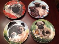 Collectable Franklin mint plates and more