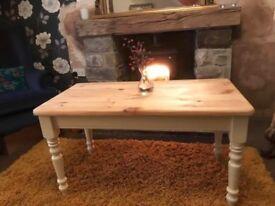 Solid Pine Coffee Table ( Farrow & Ball)