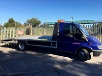 Ford transit lwb recovery truck with nice engine ,97000