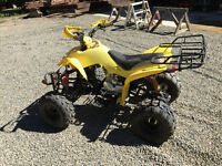 4-stroke Quad in excellent shape for the summer
