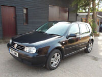 Volkswagen Golf 2.0 2002 GTi 5dr Black - Spares or Repairs - HIGH SPEC!