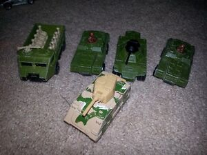 Vintage 1970's-1983 Military Dinky Cars  X   5