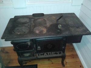 Antique Wood Burning Stove 1900's