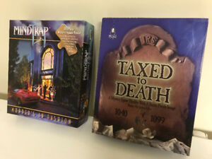 Mystery Jigsaw Puzzles-Mindtrap & Taxed to Death