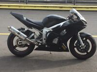 R6 track bike can be put on road