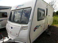 Bailey Pageant Bordeaux 2008 Fixed Bed Lightweight 4 Berth Touring Caravan