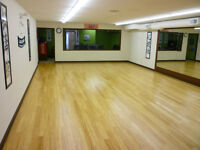Gym Studio for retail with lobby area.
