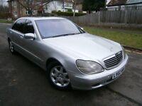 Mercedes S Class S 500 PULLMAN (silver) 2002