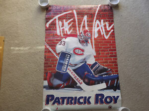 """FS: 1993 Patrick Roy """"THE WALL"""" (Costacos Brothers Co.) Sheet London Ontario image 1"""