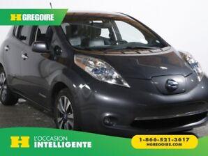 2013 Nissan Leaf SL + Tech CUIR NAV MAGS BLUETOOTH CAM RECUL