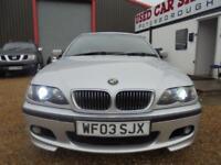 2003 03 BMW 3 SERIES 2.9 330D SPORT 4D AUTO 181 BHP DIESEL