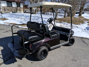 Club car gas golf cart.