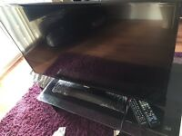 "Samsung 42"" LED tv with smart blu Ray 3D player brand new"