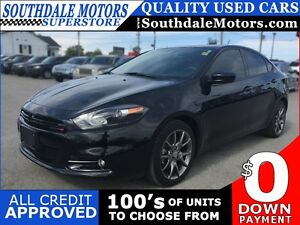 2014 DODGE DART SXT * BLUETOOTH * PREMIUM CLOTH SEATING * LOW KM