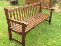 Lovely garden bench