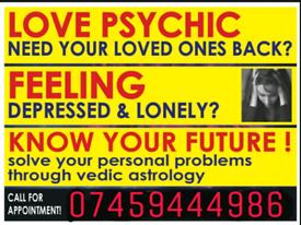 Gold medallist astrologer psychic spritual healer Brings EX BACK