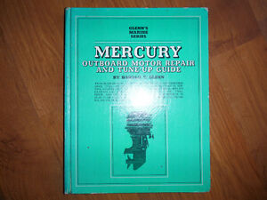 Glenn's 1960-1969 Mercury Outboard Repair Manual 1, 2, 4, 6 cyl