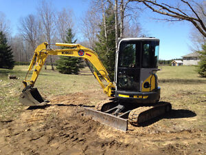 Mini Excavator Service - Hr Grace & Areas