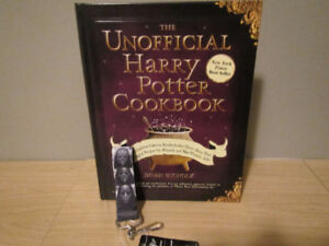 Harry Potter Cookbook, (and Death Eater keychain)