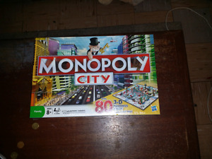 Brand new monopoly city board game