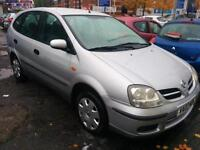 Nissan Almera Tino 1.8 S. PART-EX TO CLEAR. CLIMATE. RCL. EW. EM. CD.