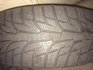 Brand new 4 snow tires (Hankook)  only 1 months used.